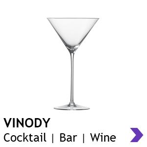 Zwiesel Glas Handmade VINODY Cocktail Glasses
