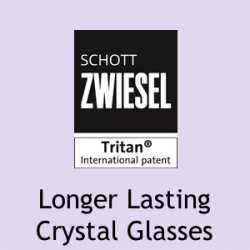 ADIT Curated Schott ZWIESEL Tritan(r) For Longer Lasting Crystal Glasses NO Pointer