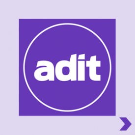 ADIT Curated ADIT Logo Pointer Home
