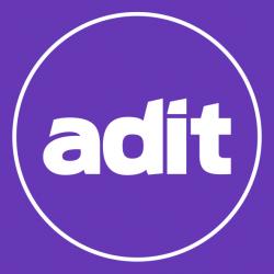 ADIT Logo Purple